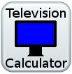 Television Calculator button